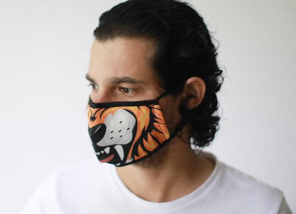 Reusable Fashion Face Mask - Tiger