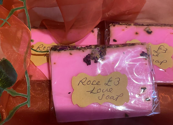 Rose Soaps for Love