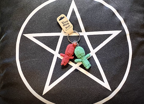 Voodoo Doll Keyring - The Twins