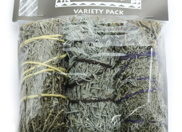 Variety Pack - Small Smudge Sticks (Pack of 3)