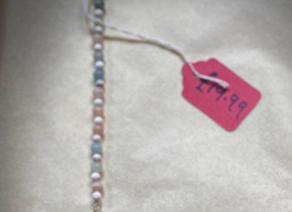Crystal & Beaded Pendulum