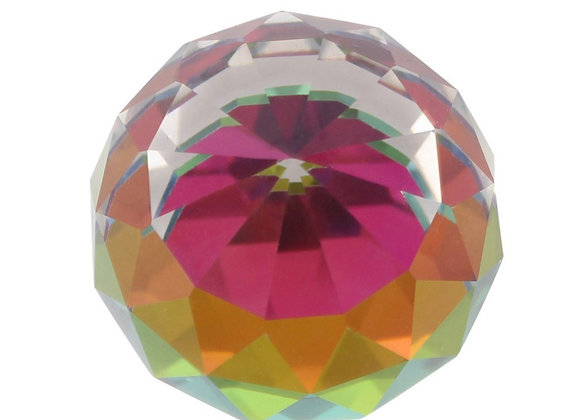 Faceted crystal ball 🔮