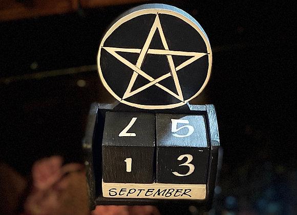 Pentacle Calendar 🧙🏼♀️