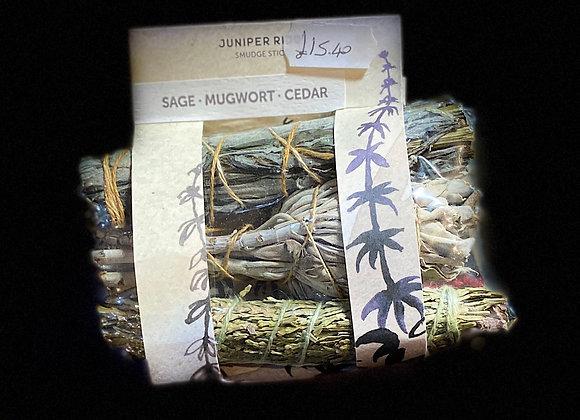 Mini Bundles - Sage - Mugwort - Cedar
