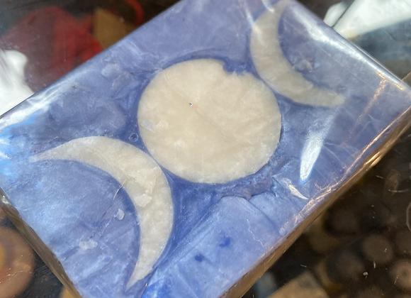 Triple Moon Goddess - Violet Soap
