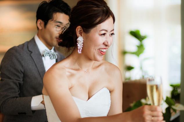 Oahu Bride Smiling