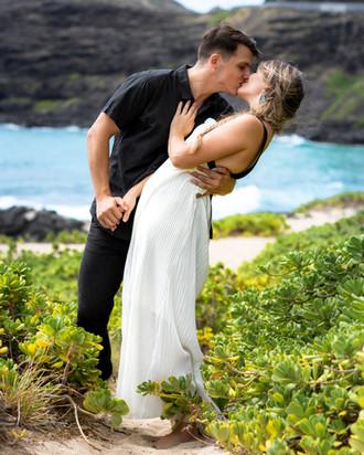 Hawiian Couple