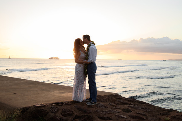 Oahu Sunset Wedding