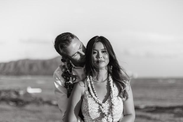 Oahu Wedding Couple