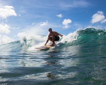 Surfing Hawaii's Finest