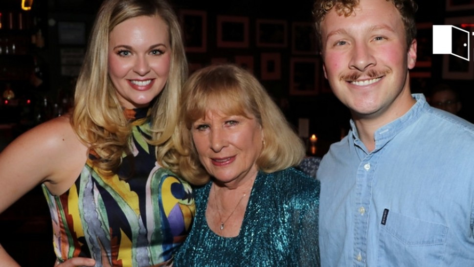 Tina Scariano, Christina Crawford, Charlie Levy (Kevin Alvey)