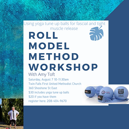 Roll Model Method Workshop with Amy Toft