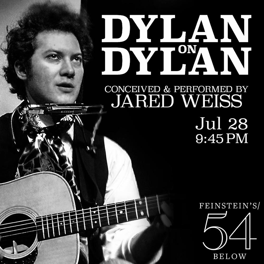 Jared Weiss sings Bob Dylan at 54 Below