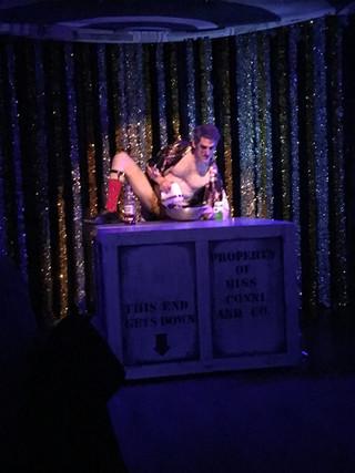 Doug Shapiro in Conni's Avant Garde Restaurant: A Snowball's Chance