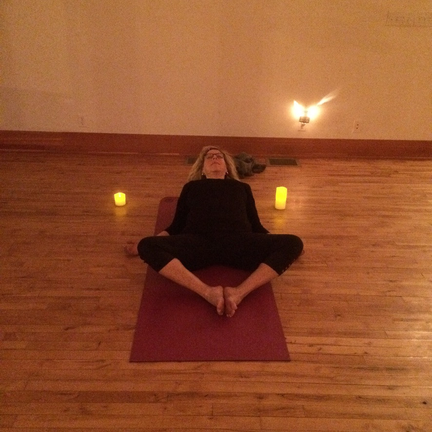 Candlelight yoga, maybe in utah, or ca_.