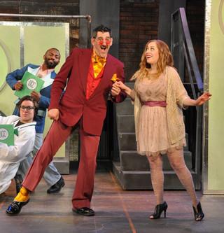 Doug Shapiro in Urinetown: The Musical