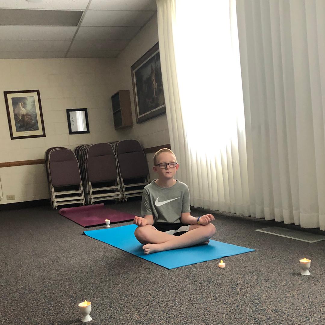Porter meditates.jpeg