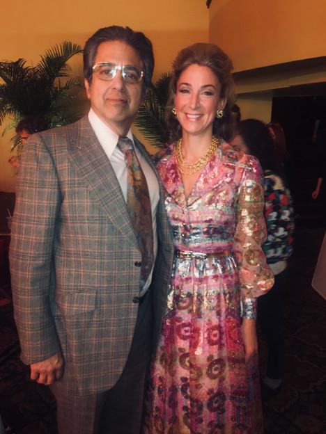 """The Irishman"" - with Ray Romano, as Mr. & Mrs. Bufalino"
