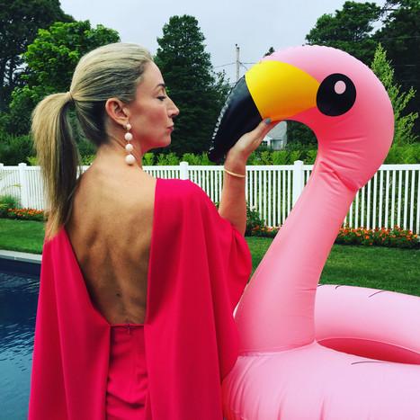 flamingo kiss