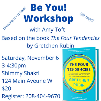 Be You! Workshop with Amy Toft
