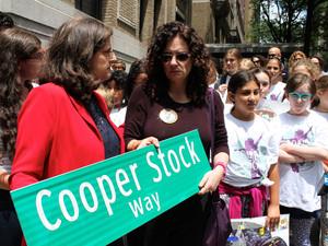 DEDICATION OF COOPER STOCK WAY