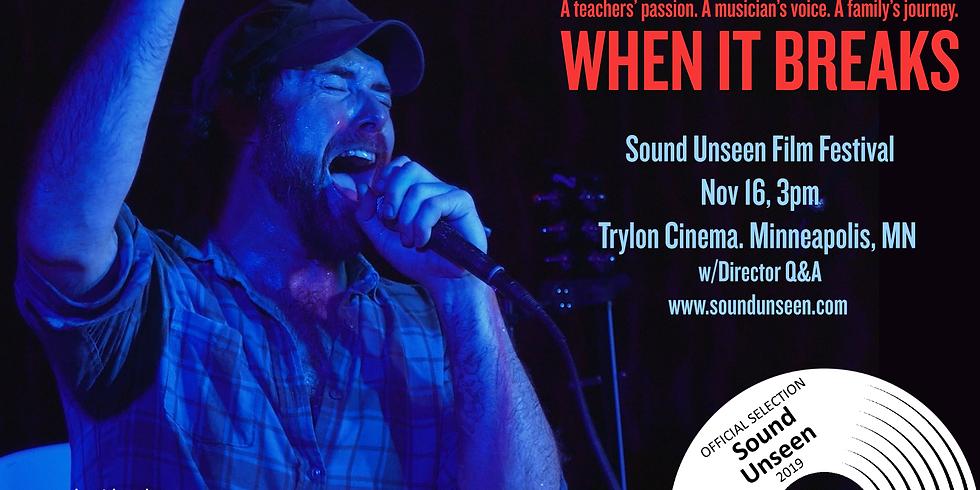 Sound Unseen Film Fest- Minneapolis