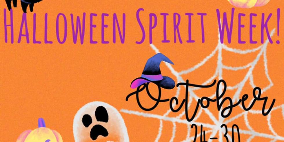 Halloween Spirit Week!