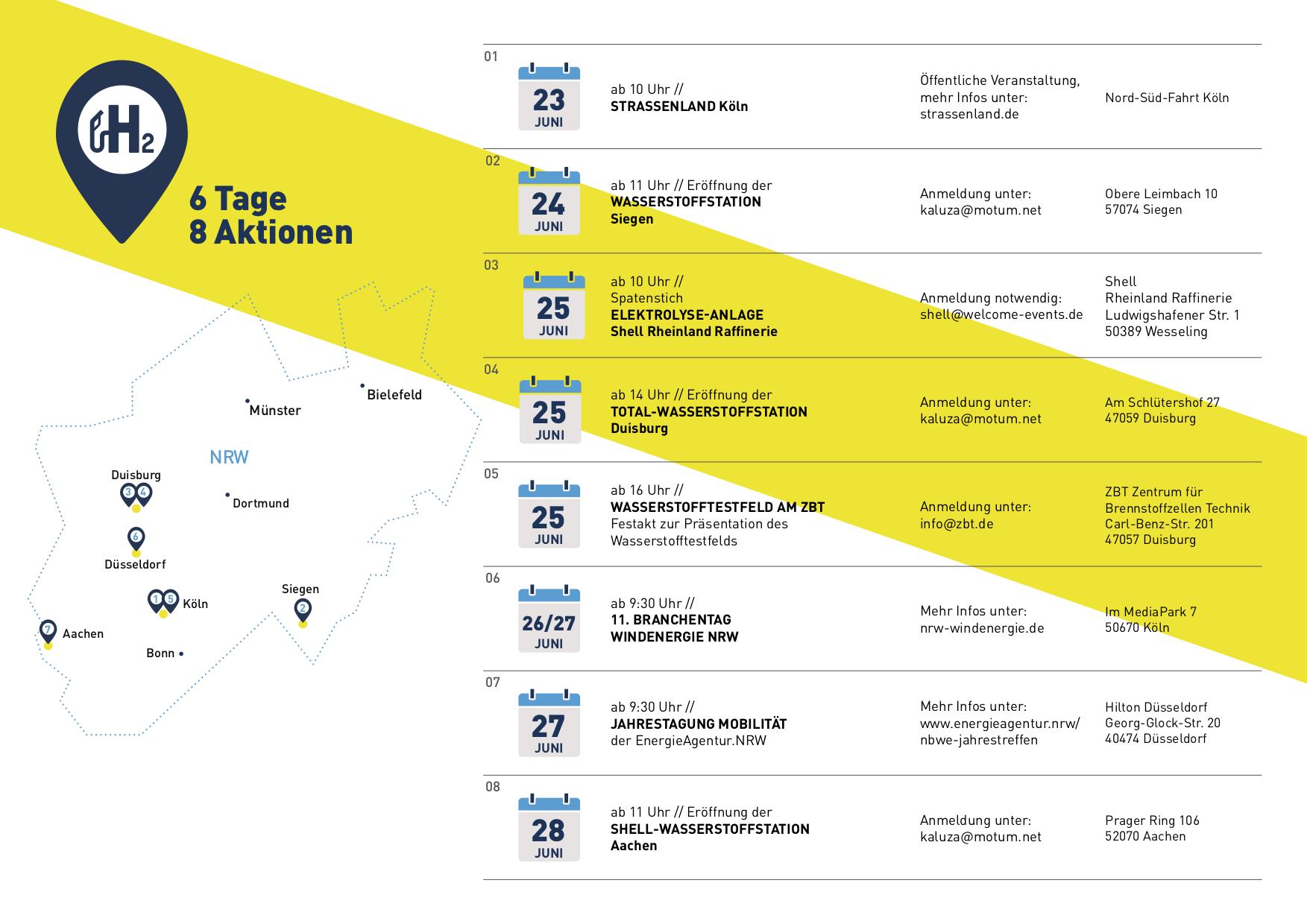 Programm der WDW NRW 2019