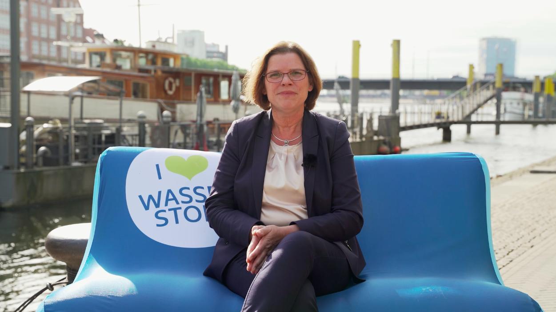 Senatorin Kristina Vogt in Bremen