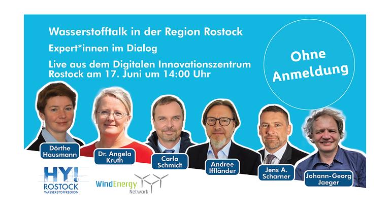 WindEnergy Network e.V., HY! Rostock I Wasserstofftalk in der Region Rostock