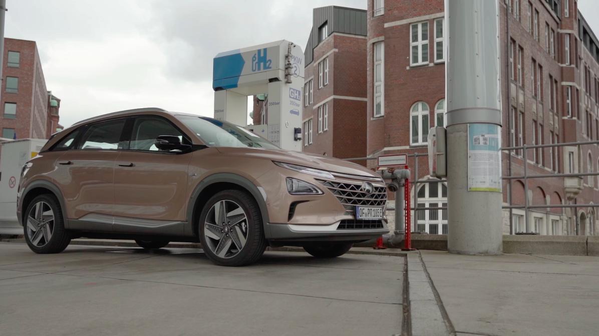 Wasserstoffauto Hyundai Nexo
