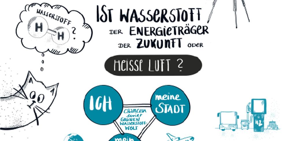 VHS Oldenburg I Talkrunde Wasserstoff: Unsere Zukunft oder heiße Luft?
