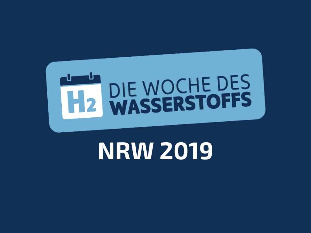 Die WOCHE DES WASSERSTOFF NRW 2019