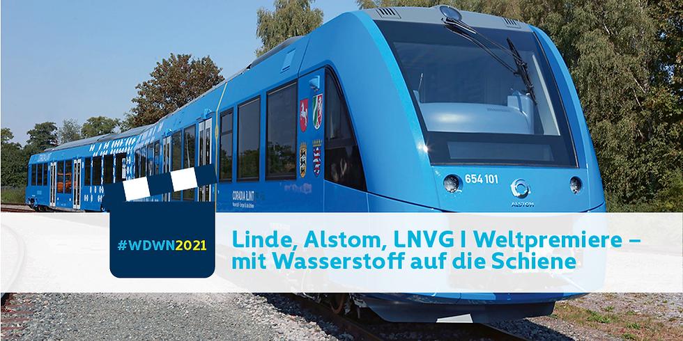 Linde, Alstom, LNVG Film I Weltpremiere – mit Wasserstoff auf die Schiene