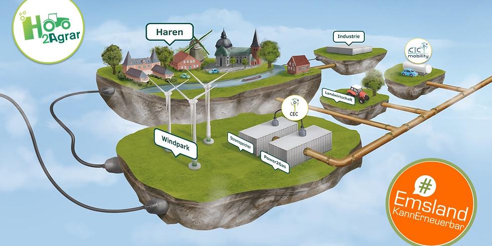 "CEC Haren GmbH & Co. KG + Projektpartner I Landwirtschaft gibt ""grünes"" Gas"