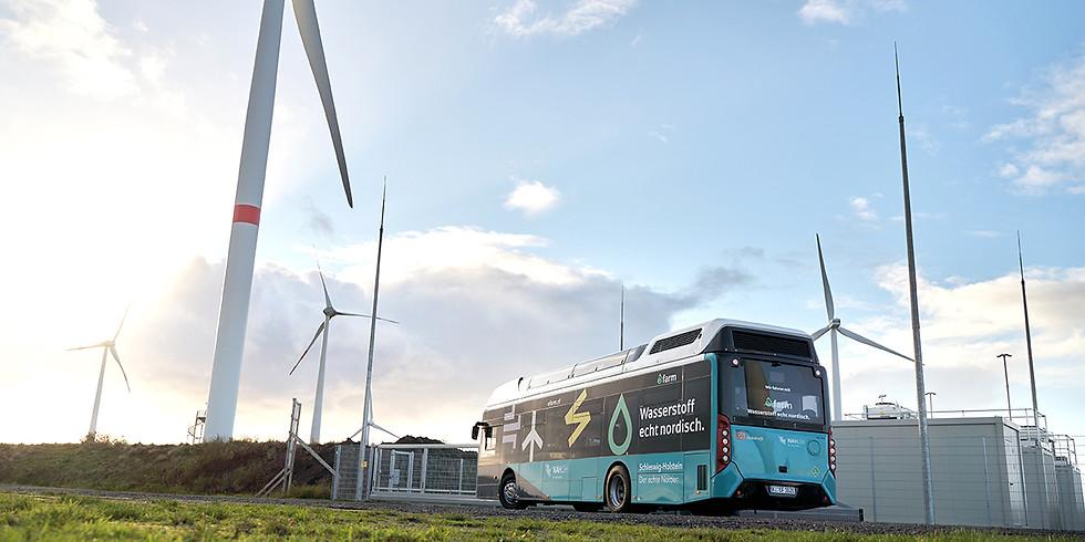 GP JOULE I Exkursion eFarm – vor Ort beim bisher größten, grünen Wasserstoffmobilitätsprojekt Deutschlands