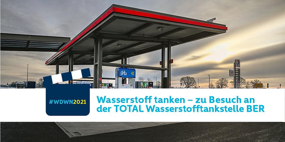 Wasserstoff tanken – zu Besuch an der TotalEnergies Wasserstofftankstelle BER