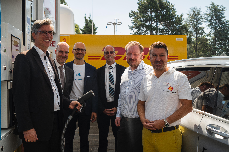 Eröffnung der Shell-Wasserstoffstation Aachen