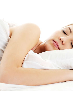 Woman sleeping soundly on clean, dust mite free mattress