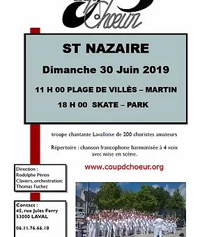 COUP d'CHOEUR en virée à ST NAZAIRE (44) !!!
