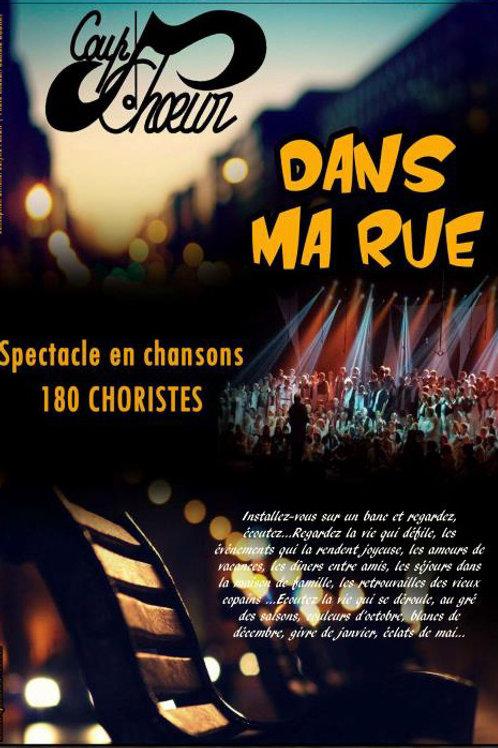 """Fichier vidéo spectacle """"DANS MA RUE"""" - Coup d'Choeur LAVAL"""