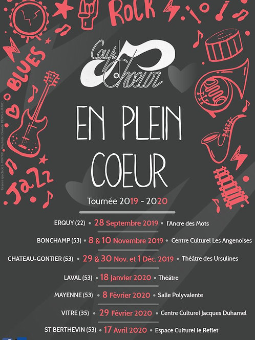 """Fichier vidéo spectacle """"EN PLEIN COEUR"""" - Coup d'Choeur LAVAL."""