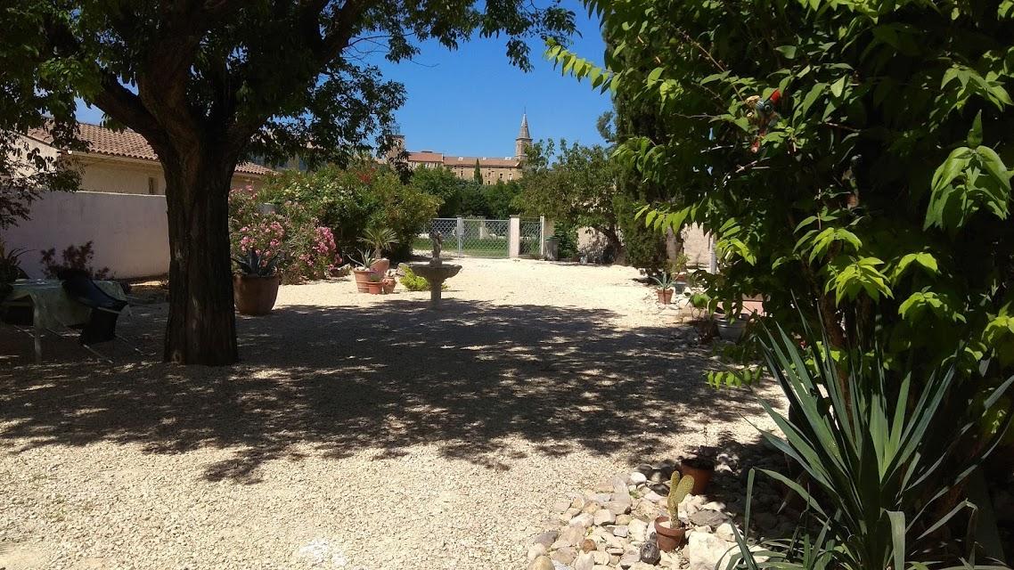 Garden L'hacienda provençale