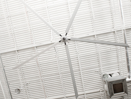 4E INSTALLERS DISCOVER THE EASE OF INSTALLATION OF THE TITAN INDUSTRIAL CEILING FAN