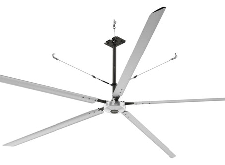 SEASONED INDUSTRIAL CEILING FAN DISTRIBUTOR CHOOSES HUNTER INDUSTRIAL AS PRIMARY FAN LINE