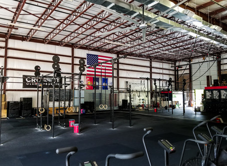 (헬스장)HVLS FAN BECOMES CROSSFIT GYM'S MOST EXCITING NEW EQUIPMENT