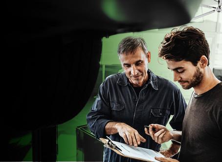 (자동차 정비소)THREE WAYS HVLS CAN IMMEDIATELY IMPROVE YOUR AUTO SHOP ENVIRONMENT