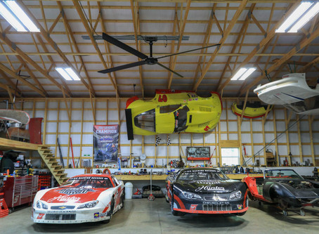 (자동차 정비소)30-YEAR RACING VETERAN CHOOSES TO INSTALL HUNTER HVLS FAN FOR TENNESSEE AUTO SHOP