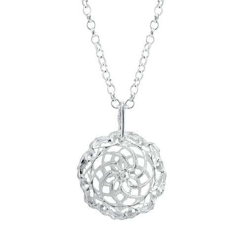 Swirl Dbl pendant