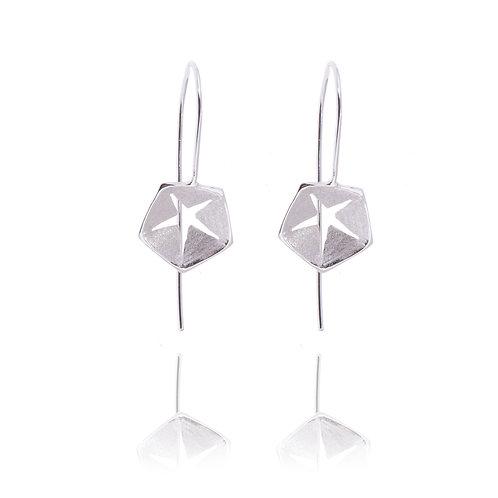 Hex Dangle Earrings